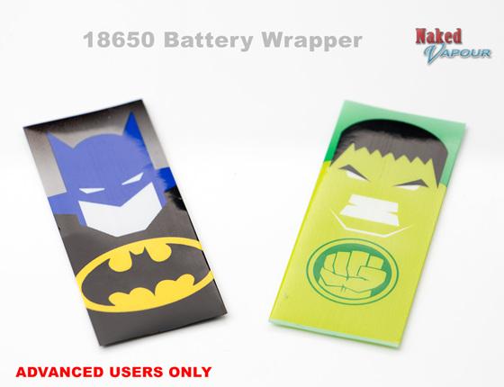 18650 Battery Wrapper