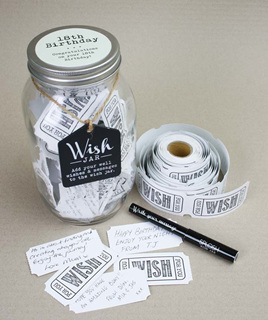 18th Birthday - Wish Jar - last one!