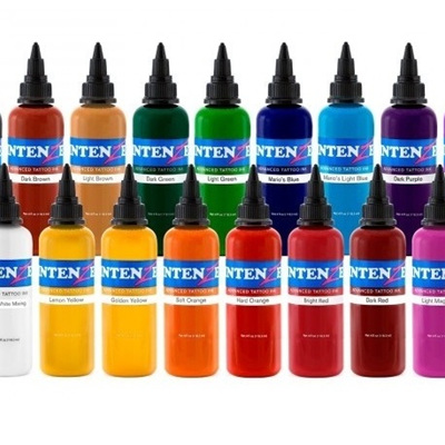 Intenze Tattoo Ink Set - TATTOO WAREHOUSE LTD