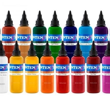 19 Color Tattoo Ink Set 1oz