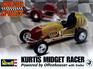 Revell 1/25 Kurtis Midget Racer Offenhauser with Trailer