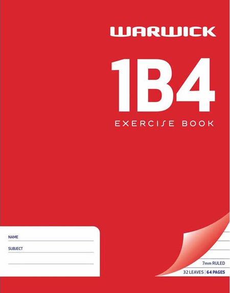 1B4 Exercise Book