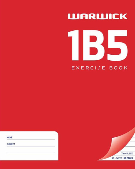1B5 Exercise Book