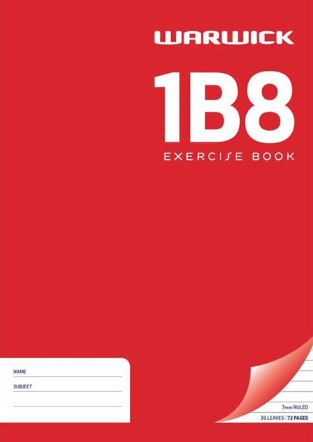 1B8 Exercise Book