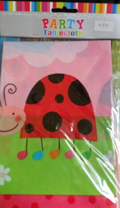 1st Birthday Ladybird tablecover