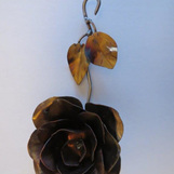 Stainless Steel Wall Rose
