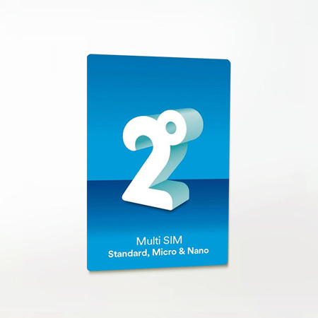 2 Degrees SIM card