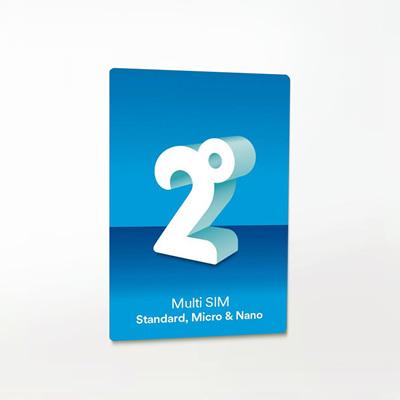 2 Degrees SIM card