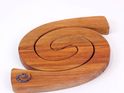 2 in 1 table mat with paua koru