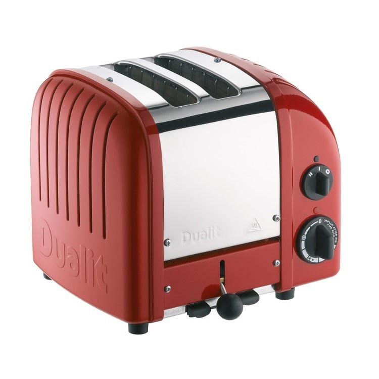 2 Slice Toaster - Polished Red