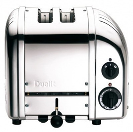 2 Slice Toaster - Stainless Steel