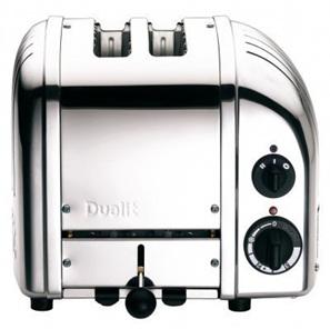 2 Slice Toaster - Stainless Steel