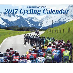 2 X GRAHAM WATSON'S 2017 CYCLING CALENDAR