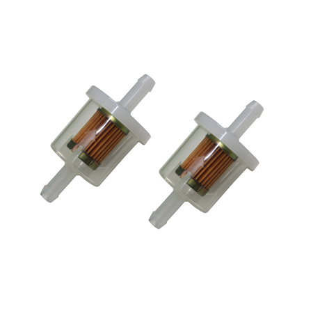 2 x Inline Fuel Filters