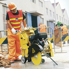 """20"""" Concrete Floor Saw"""