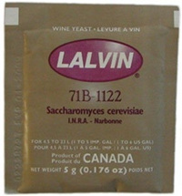 20 x Lalvin Winemaking Yeasts 5g. EC1118, K1, 71B, RC212