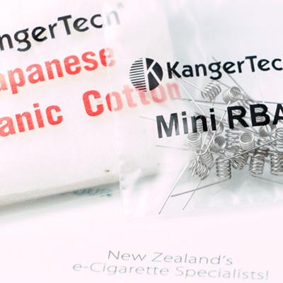 20 x RBA Coil + Japanese Organic Cotton - for Subtank Mini & Plus