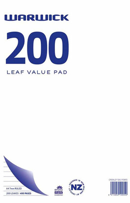 200 Leaf Value Pad