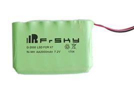 2000mAH AA NiMH Battery pack for Taranis X7