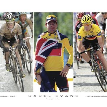 2011 Cadel Evans Tribute Poster