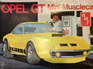 AMT 1/25 Opel GT Musclecar (Original Issue)
