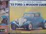 Revell 1/25 Lil' John Buttera's 33 Ford 3 Window Coupe