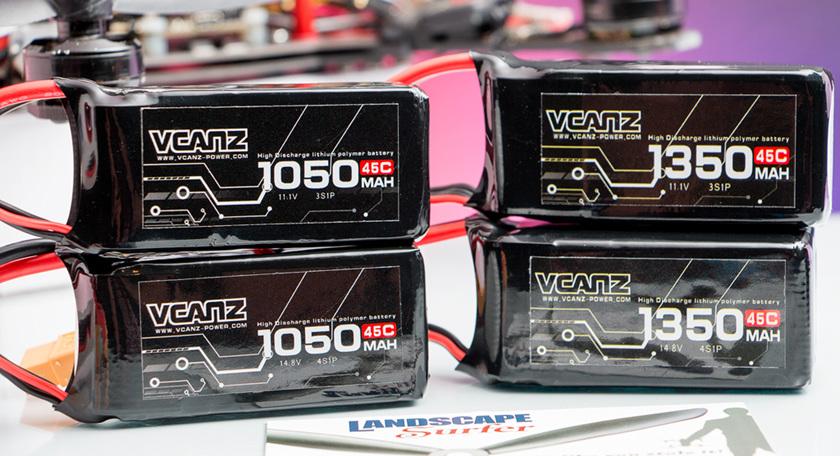 VCANZ range of Lipo batteries