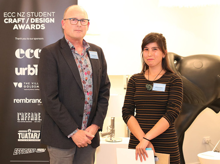 2018 ECC NZ Student Design/Craft Awards Winners