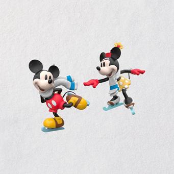 2018 Hallmark Keepsake Decoration - Mice on Ice