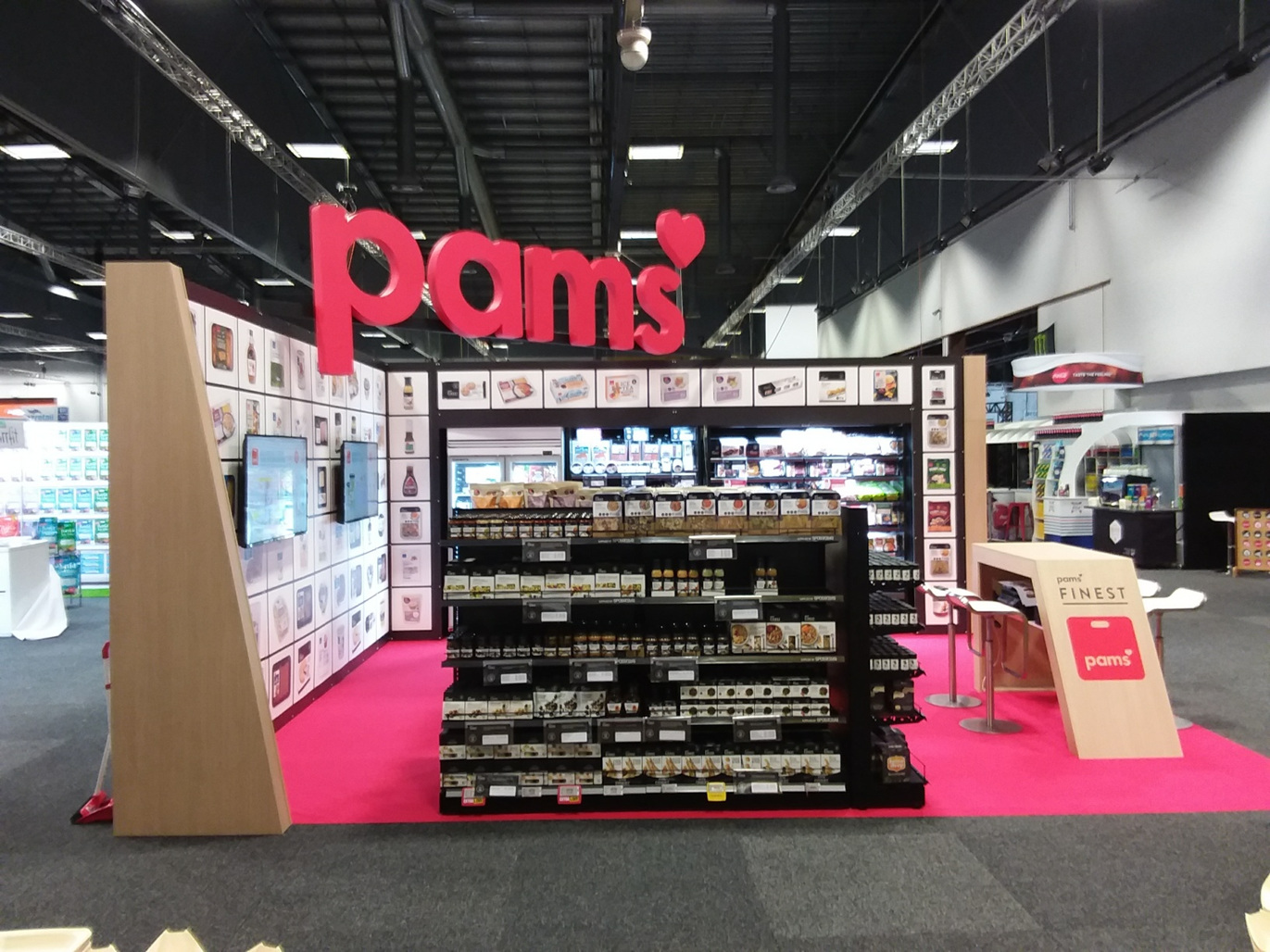 Foodstuffs Expo Stand 2018 - Designed and Built by Shout Group for the past 15 years