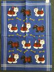 Scottie Dog Tea Towel