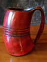 Drinking Horn Type 46 - Barbarian Blood Red Tankard