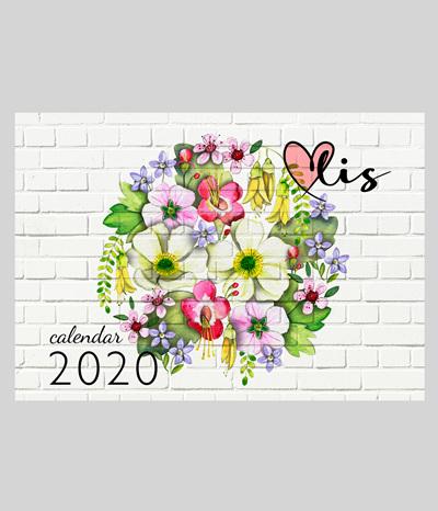 * 2020 calendar *sign up here*