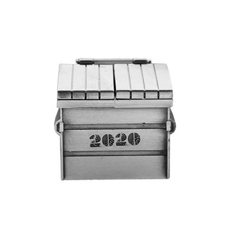 2020 Dumpster Fire 3D Geocoin
