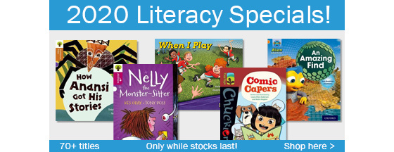 2020 Literacy Specials - Only While Stocks Last!