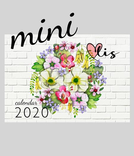 2020 MINI desk calendar