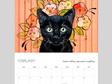 * 2020 MINI desk calendar * IN STOCK!