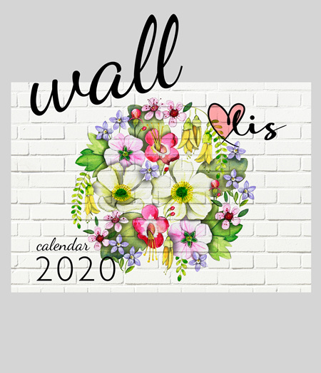 2020 wall calendar *  ALMOST GONE!