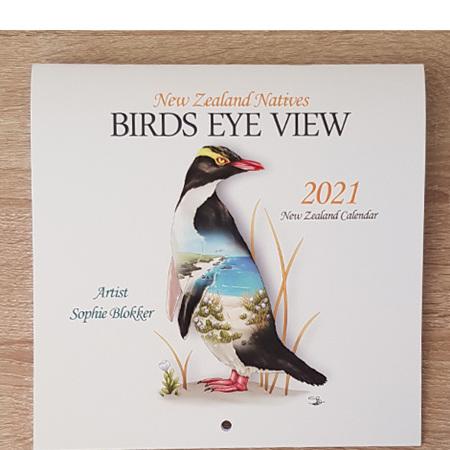 2021 Birds Eye View Calendar