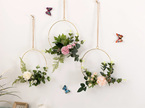 20cm Baby Pink Floral Hoop Wedding / Engagement / Party Decor