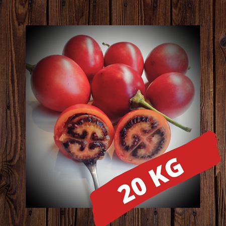20kg box of orchard fresh tamarillos