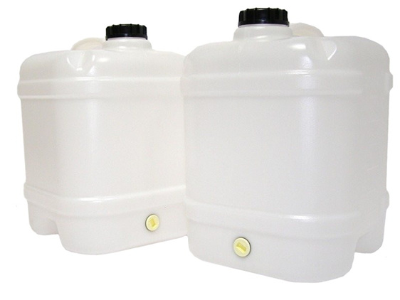 20L Water Canister (2 Pack) & Tablets