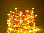 20m Plug-in Copper Wire Seed Fairy Lights - Warm White