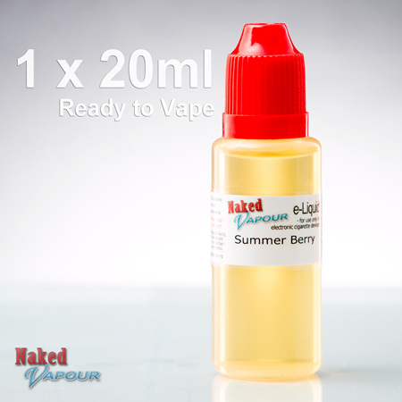 20ml - Ready to Vape - Naked Vapour e-Liquid