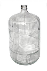 23 Litre Glass Carboy / Demijohn  (avail mid feb 2020)