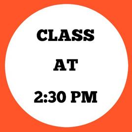 2:30PM CLASS (Maths Fun & Finger Boarders)