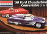 Monogram 1/24 58 Ford Thunderbird Convertible 2n1