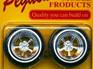 Pegasus 1/24-1/25 Sovereign Chrome Rims w/Tires