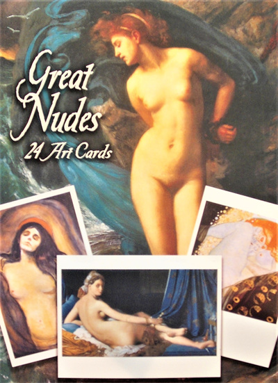 24 Great Nudes Art Cards