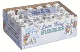 24 Pack Love Bird Bubbles